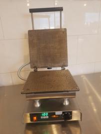 Stroopwafelmachine Bake-Master met stalen bakplaten