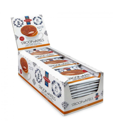 Single packed stroopwafels Box of 36