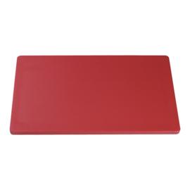 Snijplank rood (vlees) 2 x 50 x 30