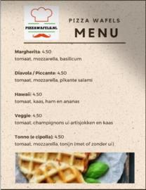 Pizzawafels starterkit DE LUXE