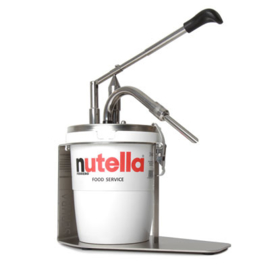 Nutella warmer and dispenser