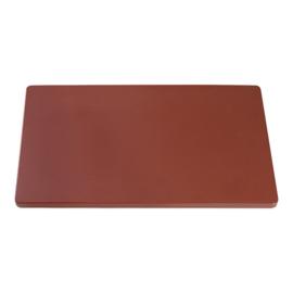 Snijplank bruin (worst / gebraden vlees) 2 x 50 x 30
