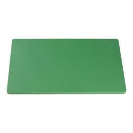 Snijplank groen (fruit/groente) 2 x 50 x 30