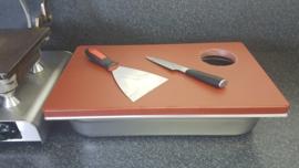 Stroopwafel  snijstation - basic bruin