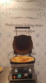 NIEUW en UNIEK: Pancake-Revolution machine met stalen platen