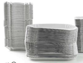 Schaaltje karton 15 x 23 cm - 100 stuks