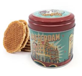 Stroopwafel can Amsterdam
