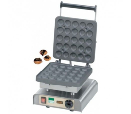Wafel balletjes machine met timer