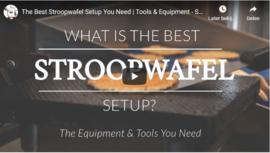Video training - How to make Stroopwafels + Ebook