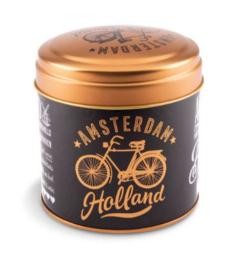 Stroopwafel can Golden bike