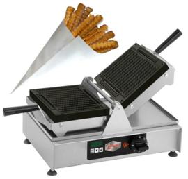 Waffle fries machine