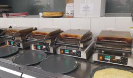 Easy Pancakemachine / Crepes met timer