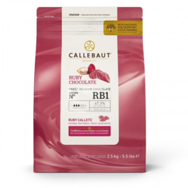 Roze Chocolade Callebouts 2,5 kg