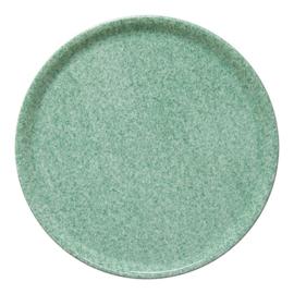 Pannenkoekenbord / Pizzabord porselein Green stone