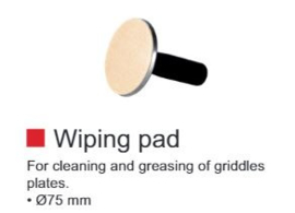 Wiping pad for Crêpes machines CTE