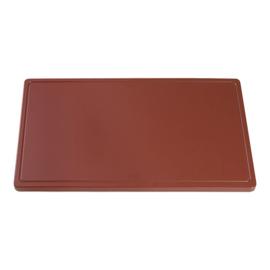 Snijplank bruin (worst/gebraden vlees) 2 x 40 x 25