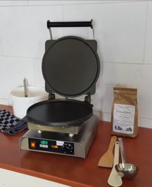 Stalen pannenkoekenbakplaat voor Baking system