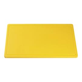 Snijplank geel (gevogelte) 2 x 40 x 25