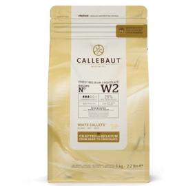Callebaut smeltchocolade wit - W2 - 1kg