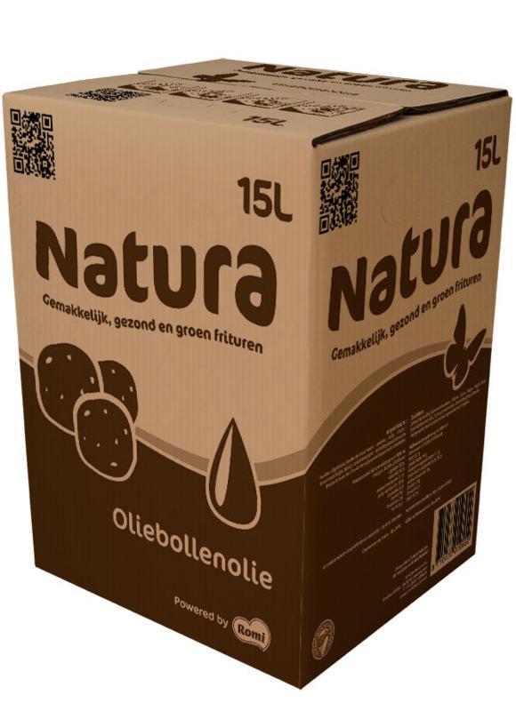 Natura Oliebollenolie 15 ltr per pallet