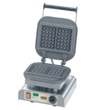 Luikse wafelmachine met timer