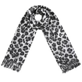 Leopard Spots Grijs