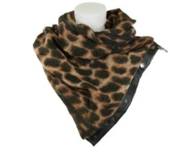 Panter sjaal met drukkers