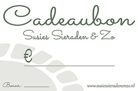 Cadeaubon € 10,00