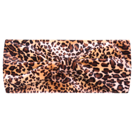 Haarband Dusty Leopard Smooth