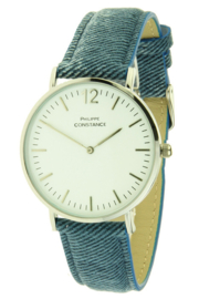 Philippe Constance Jeans Zilver