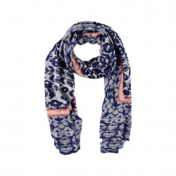 About Accessoires Shawl Luipaard Blauw