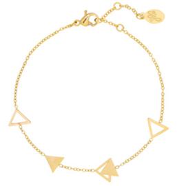Armbandje Jazzy Triangle