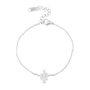 Armbandje Cactus Silver