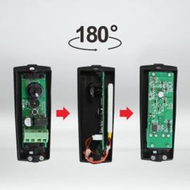 Set k-y610B universele , 180 graden richtbare sensoren op batterij of 12-24v. tot 15 meter bereik. toepasbaar op elk merk automatisering. perfect voor oa schuifpoorten, de oprit behoeft niet te worden open gemaakt.