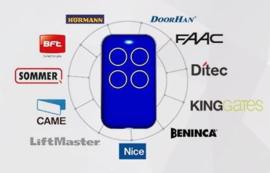 Kijzer-K-2130, kan ELK merk Copieren. U weet niet op welke frequentie uw poort werkt? dan onze Multi-frequency duplicate rolling code en fixed code zender , alles van afstand bedienen met dezelfde zender !bereik tot 100meter.!