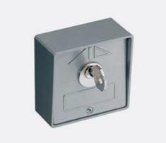 198-2 Sleutelschakelaar in aluminium