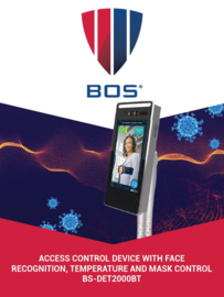BOS BS-DET2000BT Biometrische Temperatuurdetectie. Gezichtsherkenning. En entree-controle.