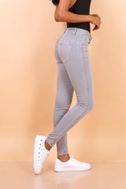 *Toxik basic grijs regular waist