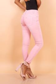 TOXIK basic regular waist pink