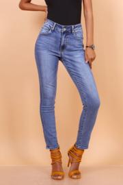 TOXIK regular waist mid jeans