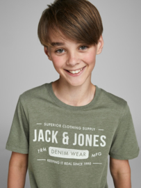 *Jack & Jones Tee Crew Olive night
