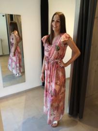 Maxi dress exotic corail