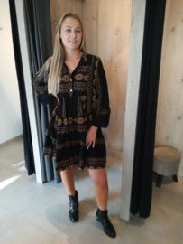 Etnic dress black