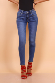 TOXIK regular waist dark jeans