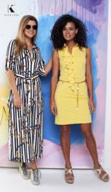 K Design jurk yellow paradise
