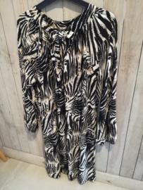 zebra dress (gaat ook voor grote maat)