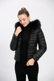 Reversable jacket black
