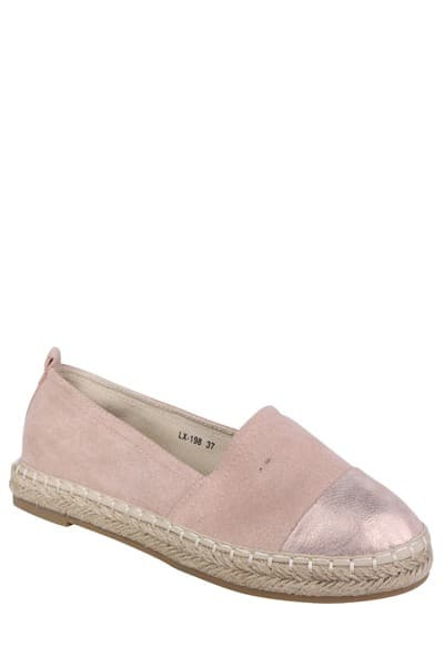 shiny Espadrille pink
