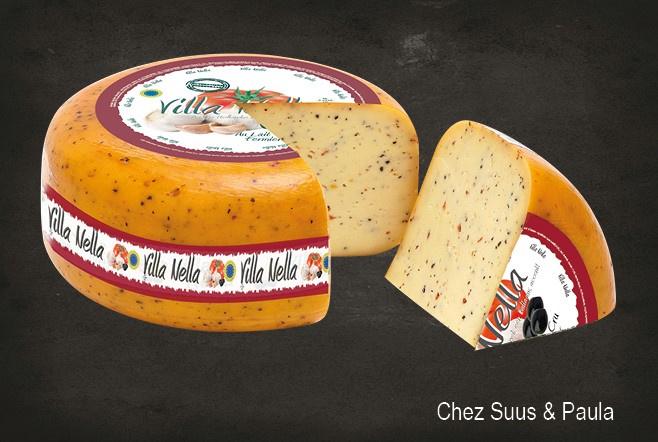 Fromage Fermier aux Olives & Tomates Séchées