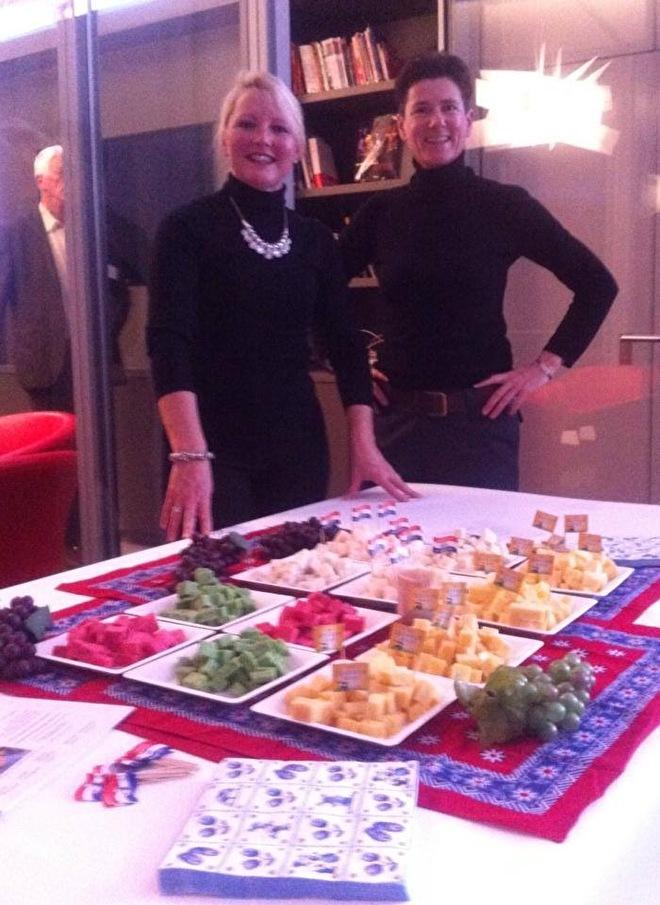 Fromage Hollandais avec Suus et Paula